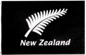 Silver fern (symbol New-Zealand)