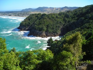 Waihi Beach - lovely view