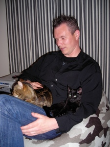 Brian and cats